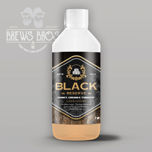Black Reserve Brews Shot
